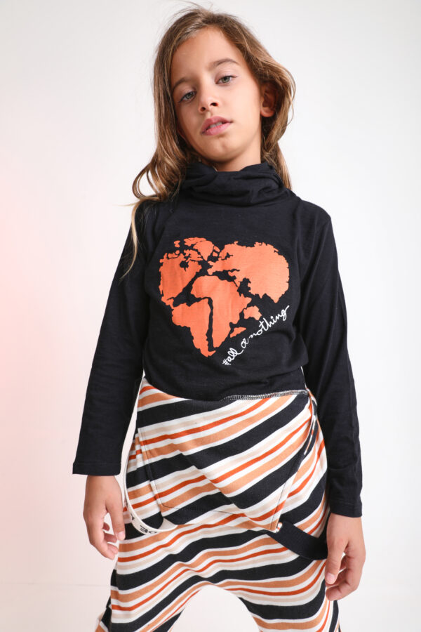 Planet Hooded Shirt